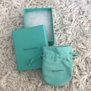 Tiffany & Co. small box with pouch.